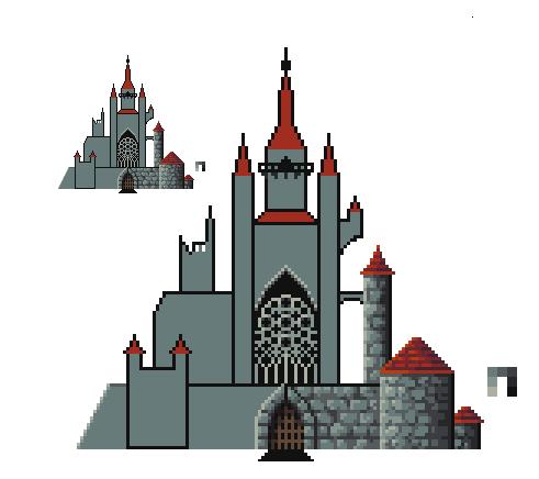mid-castle